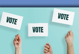 Voting centres are open!