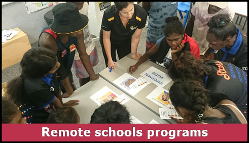 remote schools learning activity