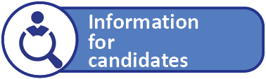 Information for candidates link button